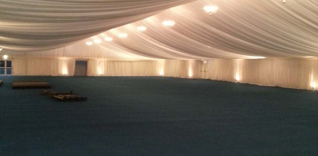 100x30m marquee lighting