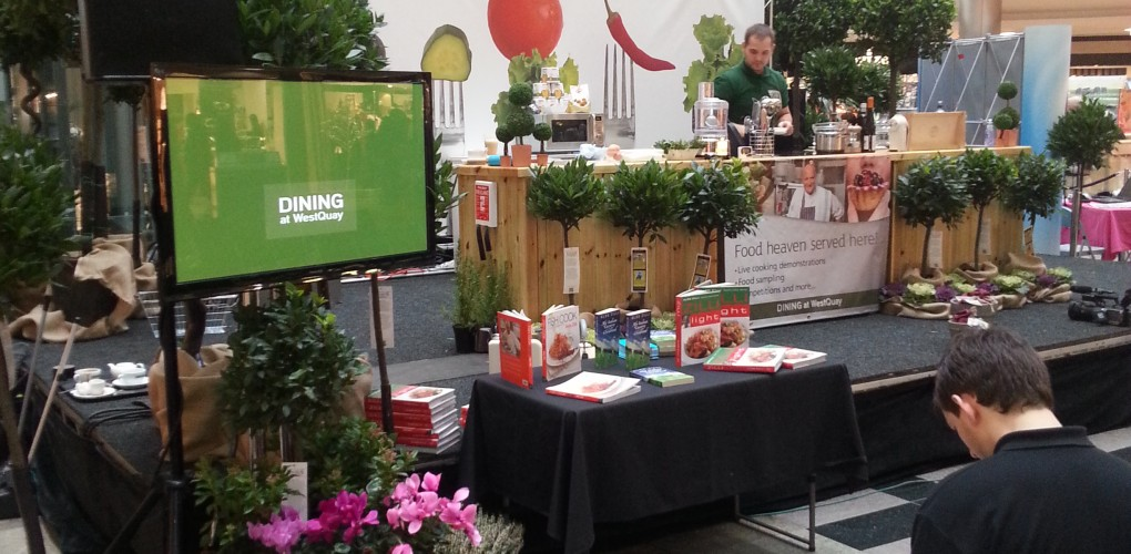 Cooking Demonstration At West Quay Shopping Center