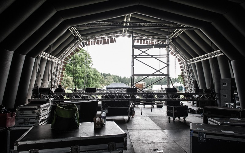 14m x 20m x 6m Inflatable Stage