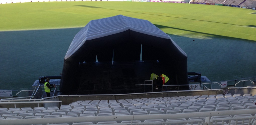 Ageas Bowl Staging